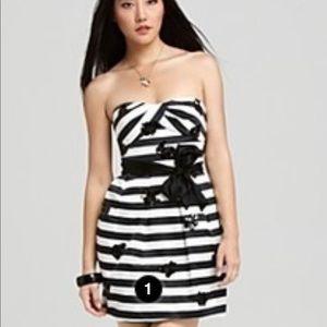 Silk striped BCBG dress